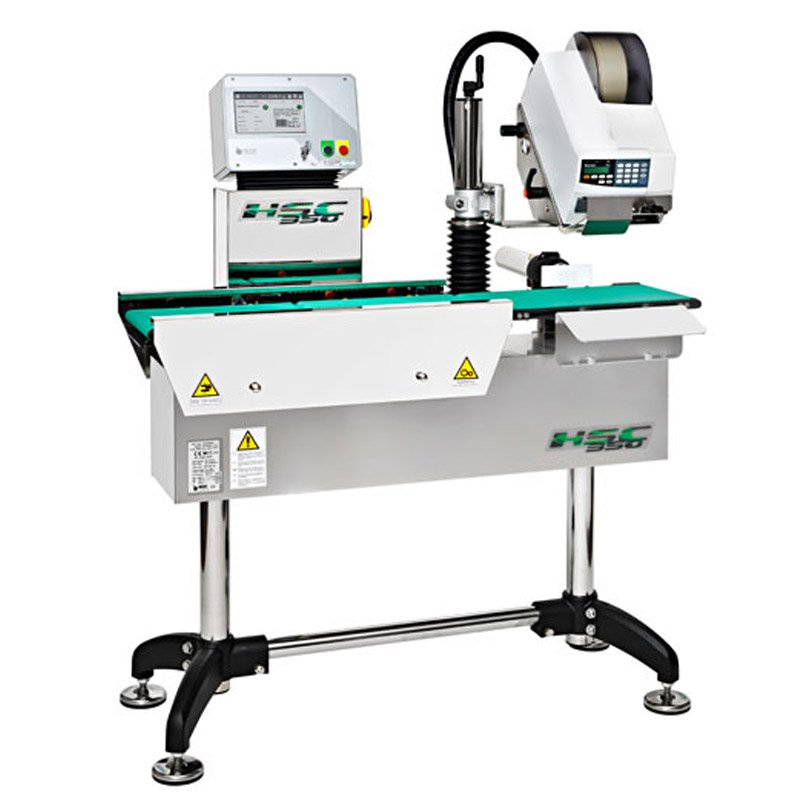 Weigh price labeller main